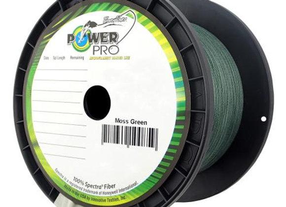 50LB Power Pro 1500yrd spool Moss Green
