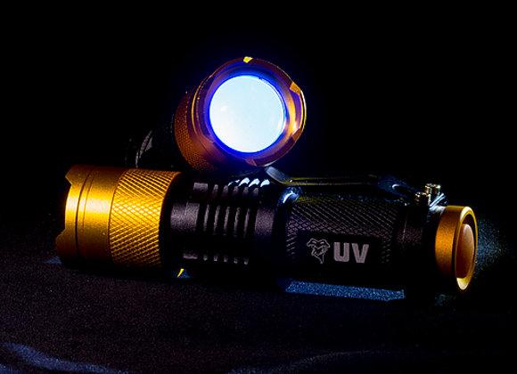 VENOM UV LED FLASHLIGHT WITH ZOOM