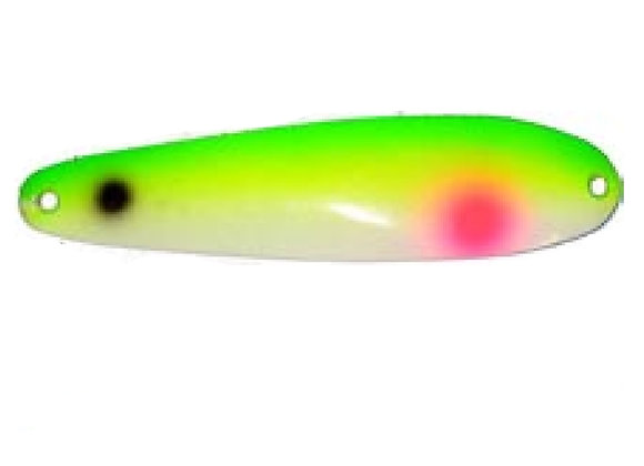 SUPER GLOW YELLOW TAIL Y66 988S YECK SPOON