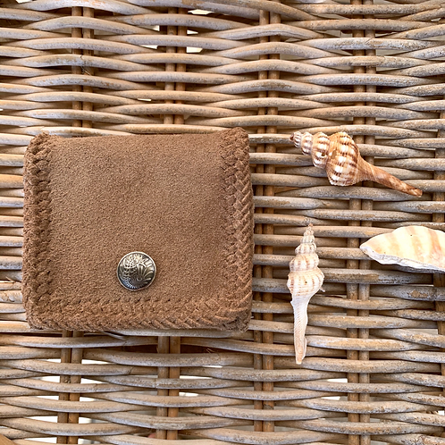 【OUTLET】Coconuts Brown× Seahorse Leather Short Wallet