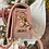 Thumbnail: Leather Pochette-Ocre Pink
