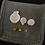 Thumbnail: Specimen Shell Motif Pouch XS-Clams