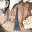 "Thumbnail: ""WHIP""Key Charm-Antique Blue"