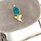 Thumbnail: Shark Tooth×Amazonite Pochette-Grayish Beige