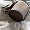 Thumbnail: Daily Bucket Leather Bag-Charcoal Brown