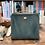 Thumbnail: Bar Handle Square Leather Bag