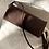 Thumbnail: Stick Shoulder/Clutch Leather Bag-Violet