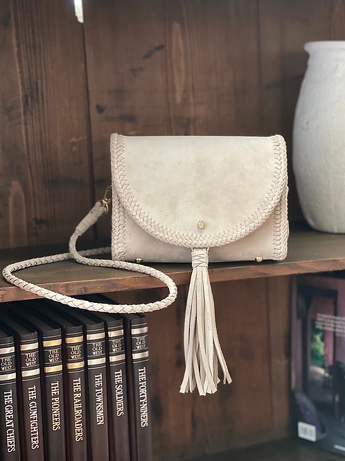 Extra Small Leather Bag -Light pink