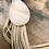 Thumbnail: Rose Quartz Key Charm-Beige