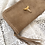 Thumbnail: Fossil Shark Tooth×Dark Sand Leather Long Wallet