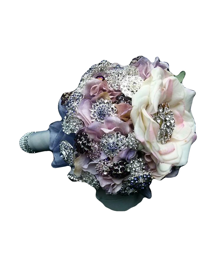 """So Romantic"" Brooch Bouquet"