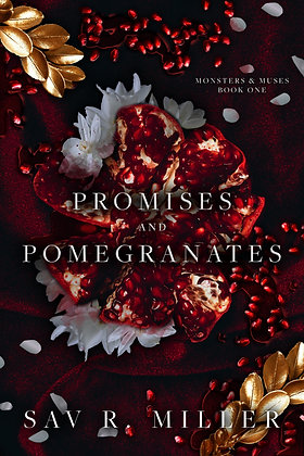 Promises and Pomegranates Signed Paperback/Hardcover