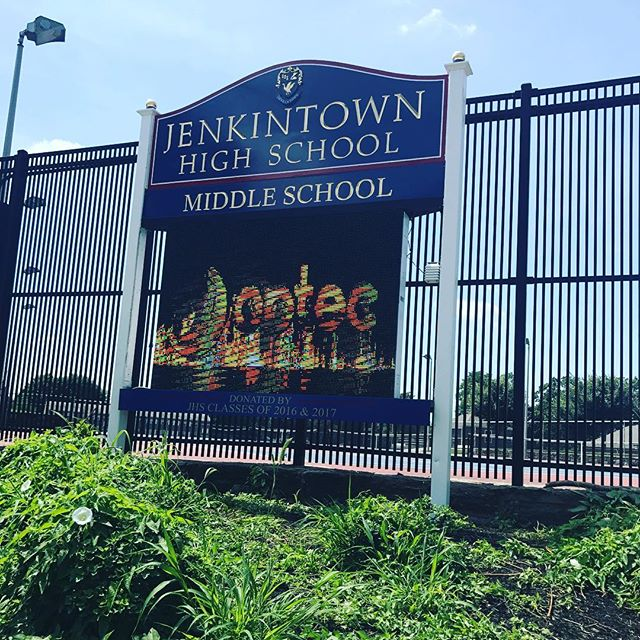 Jenkintown School gets a new LED sign!