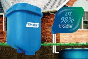 Filtro água de chuva Fibratec