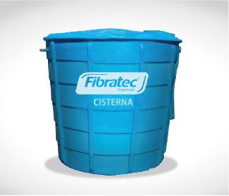 Cisterna subterrânea Fibratec PRFV