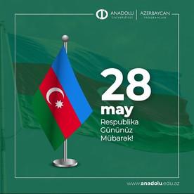 28May-Respublika Gününüz mübarək