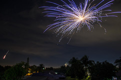 Fireworks over Cape Coral FL