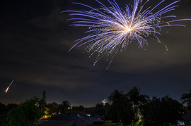 Fireworks over Cape Coral FL