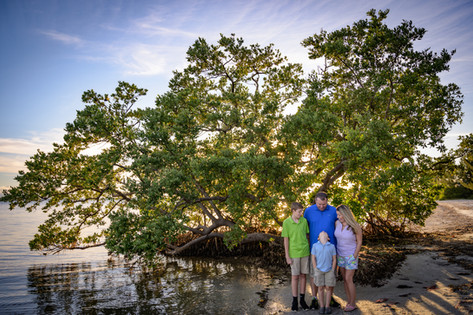 Family Portrait photography Fort Myers Beach