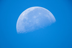 Day moon in Cape Coral
