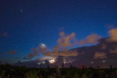 Night sky and lighting - Cape Coral