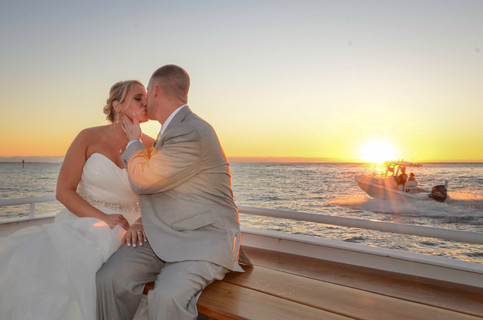 Sanibel princess yacht wedding