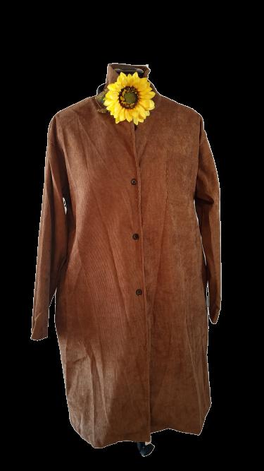 חולצת קורדרוי( דק) אובר סייז
