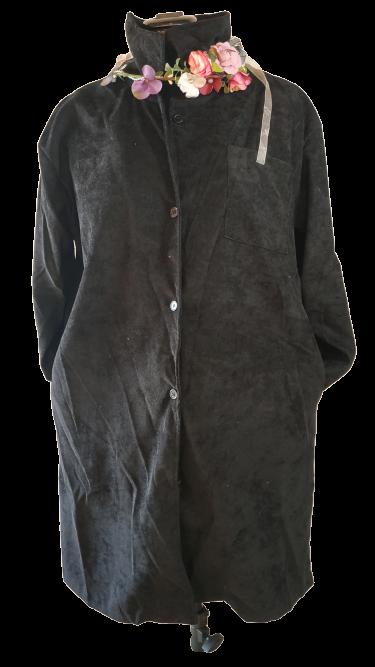 חולצת קורדרוי (דק) אובר סייז