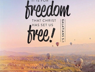 "June 30, 2019: ""True Freedom"""