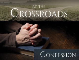 """March 1, 2017--Ash Wednesday: """"Confession"""""""