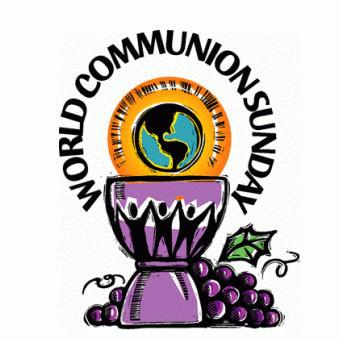 """World Communion Sunday: """"Joy Is..."""""""