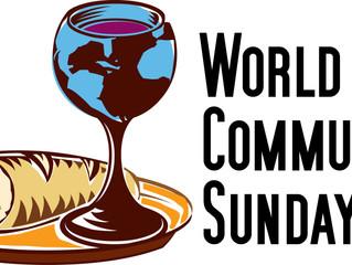 "October 2, 2016: ""Passed Down""--World Communion Sunday"