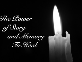 "September 11, 2016: ""The Power of Story and Memory to Heal"""