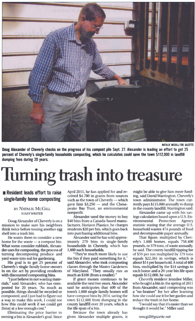 Turning Trash Into Treasure