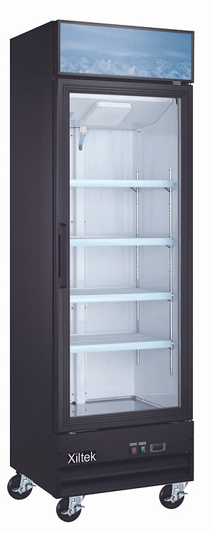 "27"" Swing Glass Door Merchandising Freezer"