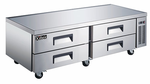 72″ 4 Drawer Refrigerated Chef Base