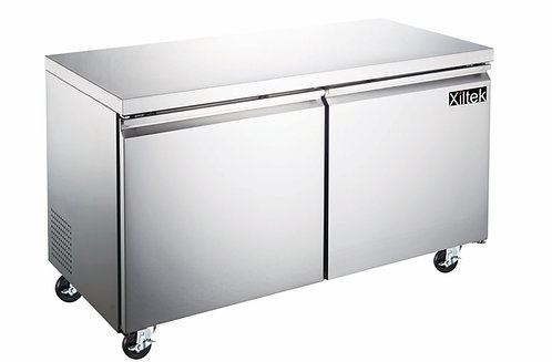 48″ Two Door Undercounter Freezer