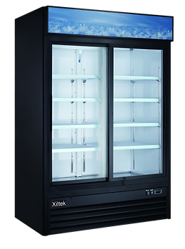Xiltek Two Door Merchandiser