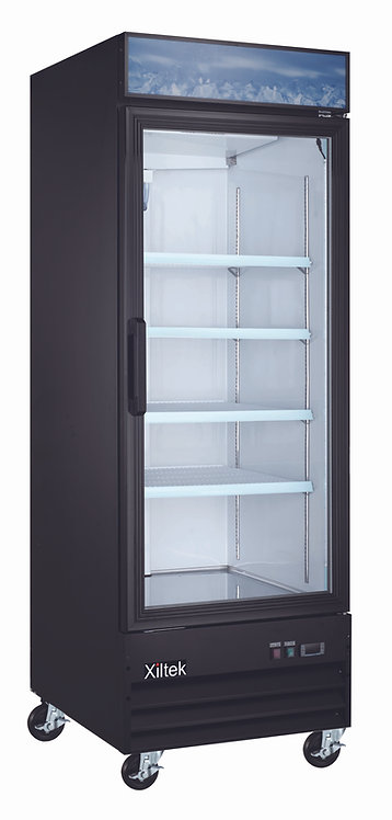 "28"" Single Swing Glass Door Merchandiser Refrigerator"