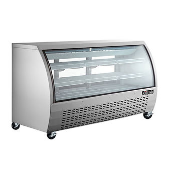Xiltek 82 inch All Stainless Steel Deli