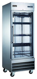Xiltek Glass Door Refrigerator