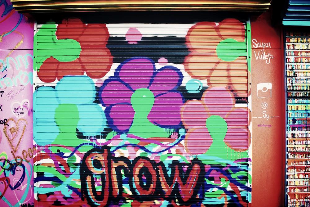Housotn Graffiti Wall