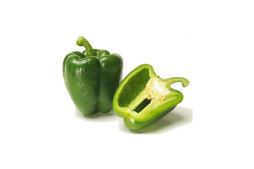 Peperone tondo verde