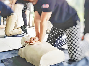 Cardiopulmonary resuscitation ( CPR ) t