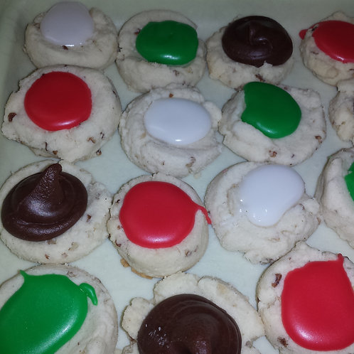 Butter Cookies - Mixed Fondant Flavours (QTY 1 Box)