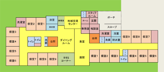 Care Home Horioka Floor Plan