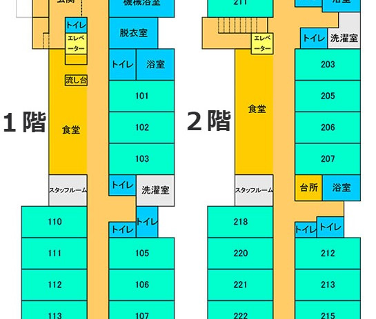 Care Community Shinsei Floor Map