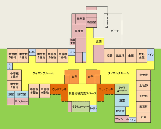 Care Home Nakasone Floor Map