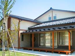 Appearance of Care Home Horioka Community Exchange Center