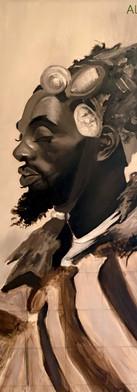 Oil Portrait Study